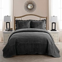 Providence Quilted Plush Bedspread