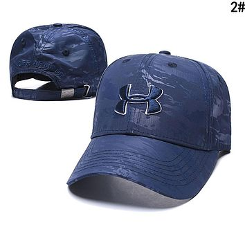 Under Armour Women Men Embroidery Sports Sun Hat Baseball Cap Hat 2#