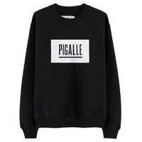 PIGALLE Black Sweatshirt