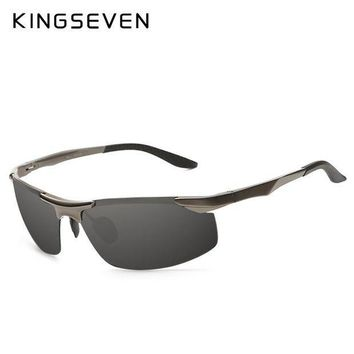 PEAPYV3 High Quality Aluminum Alloy Frame Polarized Sunglasses Men's Driver Sunglass Mirror Outdoor Sports Glasses with 6 Accessories
