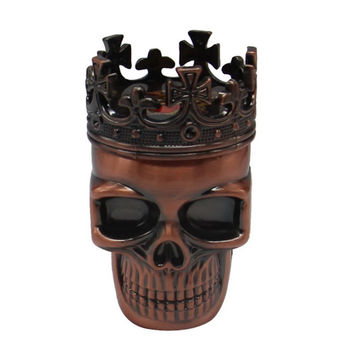 NEW Cool King Skull Tobacco Herb Grinder