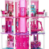 Barbie Dream House Townhouse Furniture Multiple Playing Fun Lights Sounds New