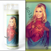 Saint Paris Hilton Prayer Candle - Christmas Gag Gift