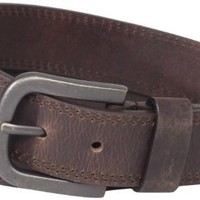 Dickies Mens 38mm Leather Belt With T...