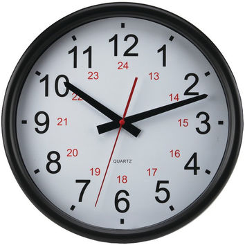 14In 24Hr Wall Clock