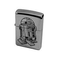 Lighter - R2D2 Zippo 250 (Engraved by Hip Flask Plus) Great for Star Wars fans L1