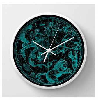 Northern Hemisphere Wall Clock