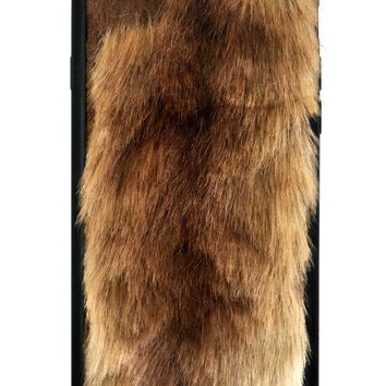 Foxy Brown Faux Fur iPhone 6/6s Case