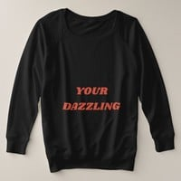 Your Dazzling Plus Size Sweatshirt