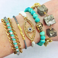 Hazel Eyes Arm Candy Set