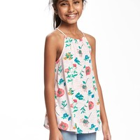 High-Neck Swing Tunic for Girls   Old Navy