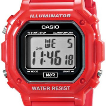 Casio Glossy Red Digital Watch