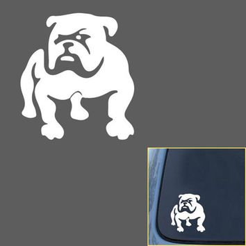 Car Stickers Car Styling Decoration Auto Motorcycle Waterproof Bulldog Puppy Dog Covers Reflective Personality Stickers