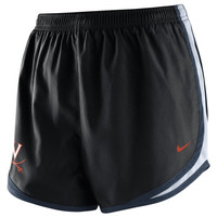 Virginia Cavaliers Nike Women's Tempo Shorts – Black