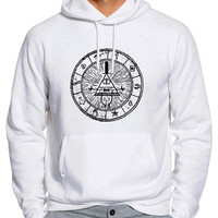 Gravity Falls Bill Cipher 834 Man Hoodie and Woman Hoodie