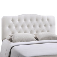 Annabel Queen Vinyl Headboard