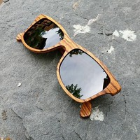 Canby Zebrawood Sunglasses by Shwood