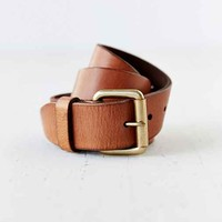 Antique Leather Belt- Light Brown