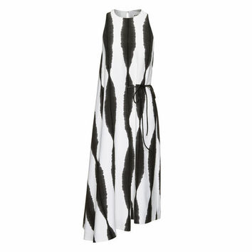 Sekka Stripe Print Dress