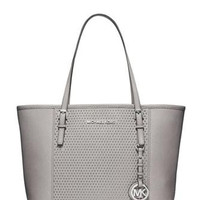 Michael Michael Kors Microstud Center Stripe Small Travel Tote