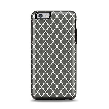 The Gray & White Seamless Morocan Pattern Apple iPhone 6 Plus Otterbox Symmetry Case Skin Set