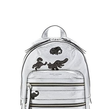 Gotham Flocked Animals Backpack - Marc Jacobs