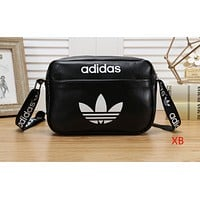 Nike x ADIDAS x PUMA Hot Selling Lady LOGO Small Single Shoulder Bag Fashion Shopping Bag ADIDAS Black
