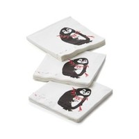Tipsy Penguin Paper Beverage Napkin (Set of 20)