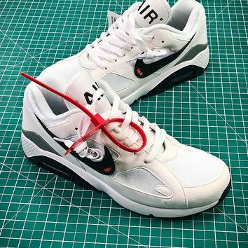 OFF WHITE x Nike Air Max 180 Ultramarine White Sport Running Shoes - Best Online Sale