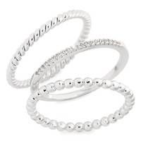 Melanie Auld Balia Set of 3 Stacking Rings | Nordstrom
