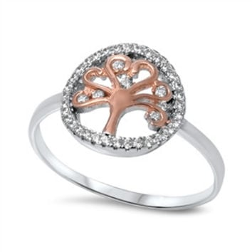 Sterling Silver Tree of Life Ring