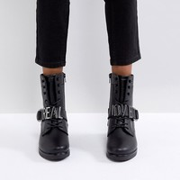 ALDO Realove Buckle Ankle Boots at asos.com
