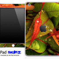 Wet Leaves Skin for the iPad Mini, iPad 1st, 2nd, 3rd or 4th Generation