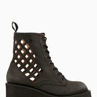 Nasty Gal x Jeffrey Campbell Pixel Cutout Boot