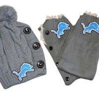 Lions Leg Warmers and or Beanie