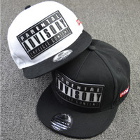 2015 rubber letter bone snapback brand parental advisory gorras hiphop baseball cap summer casual casquette women men flat hat
