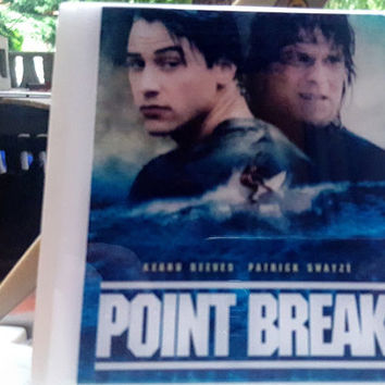 Tile Coasters OOPS Set SECONDS Sale Point Break Resin Movie Coasters