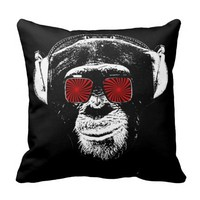 Funny monkey Pillows