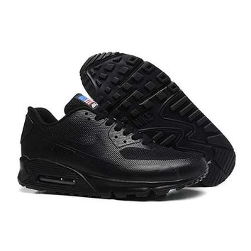 Nike Air Max 90 American Flag Men s Women s Shoes All Black