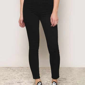 Naomi High Waist Jeans - Black - What's New at Gypsy Warrior