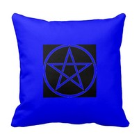 Pentacle Pillow Pagan Wiccan Wares by Cheeky Witch