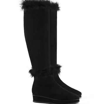 Tory Burch Marcel Fur Boot