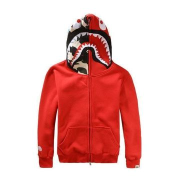 Fashion Shark Hoodies Jacket
