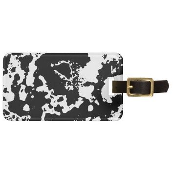Ink Luggage Tag