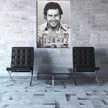 Legendary Figure Pablo Escobar -Marilyn Monroe Sexy Pictures Modern Hotel Living Room Wall Art bedroom Poster Decor Frameless