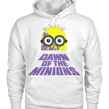 Dawn Of The Minions Pullover Hoodie 8 Oz