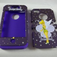 Iphone 5 and 5s Tinkerbell Purple Box Defender Full Case New and Rare