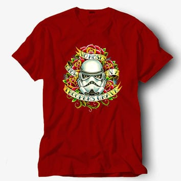 No rose crow on a troopers grave shirt, Hot product on USA, Funny Shirt, Colour Black White Gray Blue Red