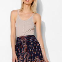 Colorfast Pocket Rib-Knit Tank Top - Urban Outfitters