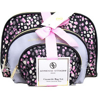 Online Only Dome Shaped with Bow - Painted Dots 3 Pc Set